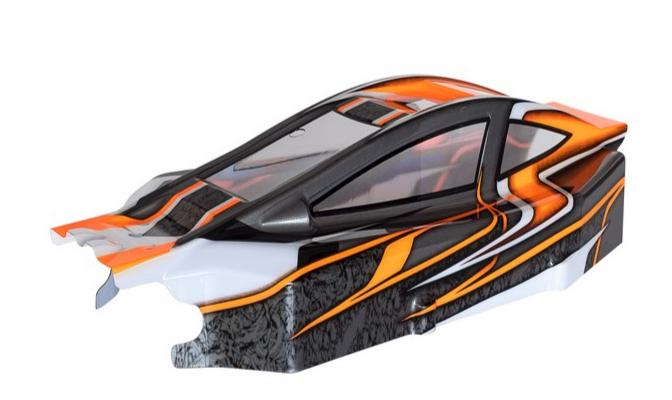 HOBBYTECH Carrosserie BX8SL Runner orange, CA-272