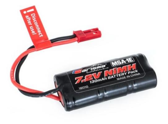 Carisma Batterie NIMH 7.2V 130 Mah MSA-1E, CARI16010