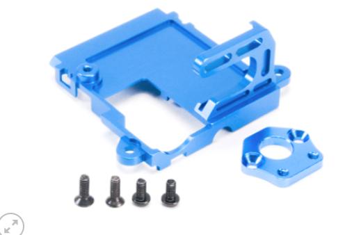 PN RACING Support moteur AWD MR030 en aluminium Bleu, MA0350B