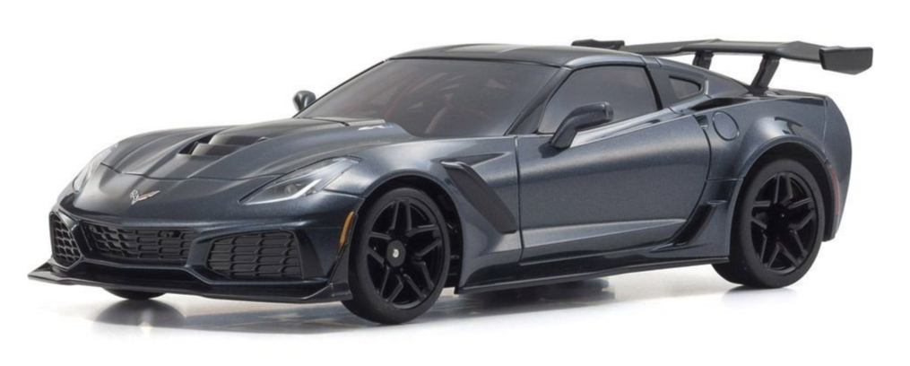 KYOSHO AUTOSCALE Mini-Z CHEVROLET CORVETTE ZR1 SHADOW GREY (W-MM), MZP240GM