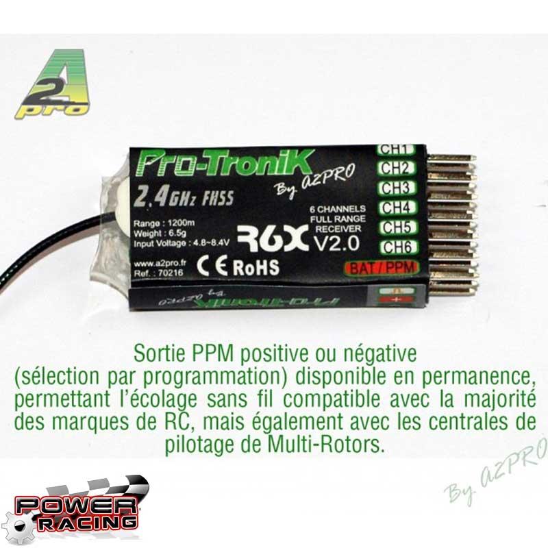 A2P Récepteur R6X Pro-Tronik V2, 70216