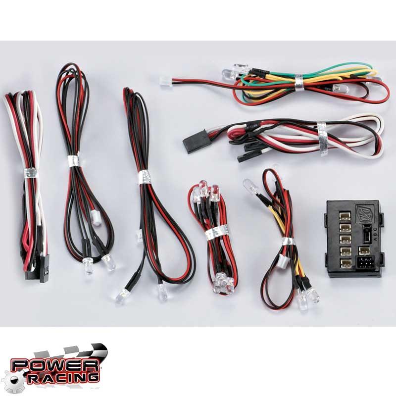 LED Light Set 1/10 SCT w/Controller Box (18 LED\'s)
