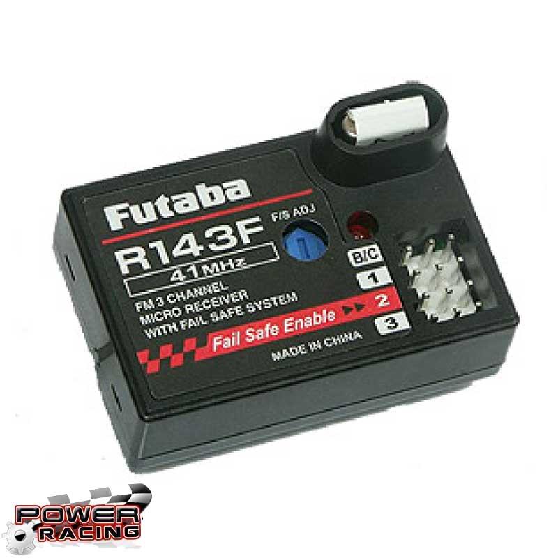 FUTABA Récepteur R143F 3 voies FM 41 MHZ