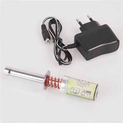 HOBBYTECH Kit Chauffe bougie - chargeur + soquet 1800mah