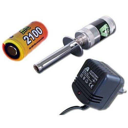 A2P Kit Chauffe bougie metal + accu 2100 mAh + chargeur, 1264