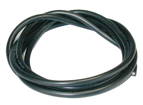 MUCHMORE Cable silicone noir 90cm 14 AWG