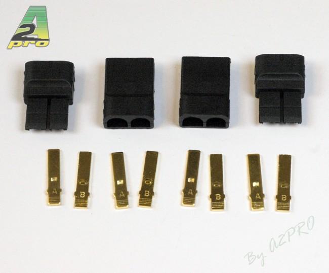 A2P Connecteur TRX OR Mâle + Femelle (2 paires), 14170