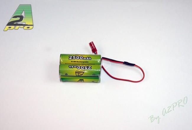 A2P Pack Rx B 4.8V/AP-2500AA BEC, 4250B