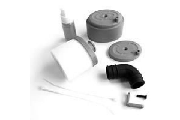 FASTRAX Kit Filtre a air 1/8 Noir, FAST93BK