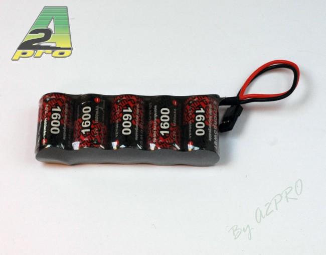 A2P Pack Rx S 6.0V/EP-1600UV JR, 5155S
