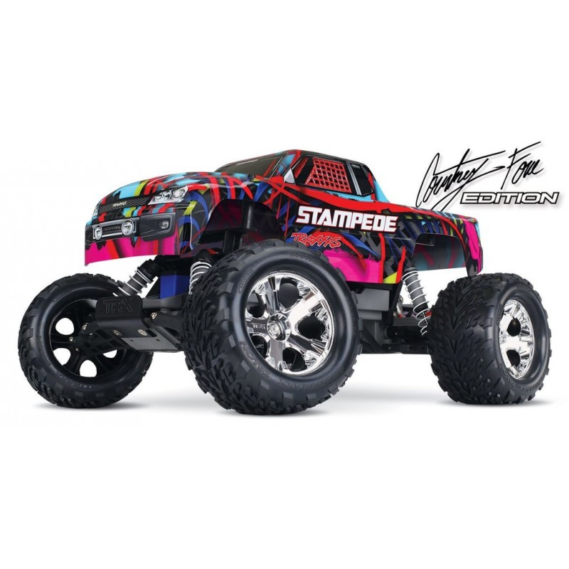 TRAXXAS Stampede COURTNEY XL-5 TQ ID RTR 36054-1