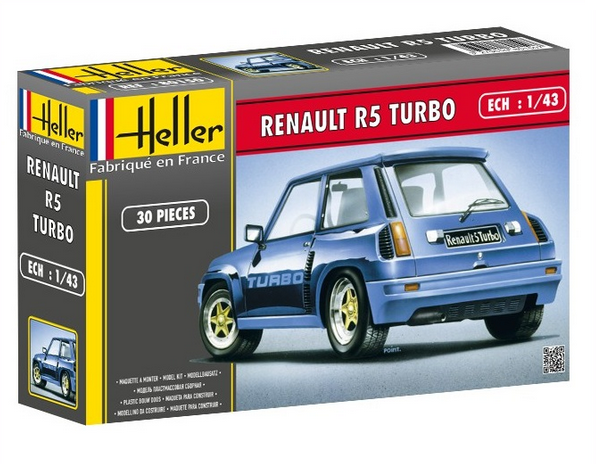 Heller R5 Turbo Rallye 1/43