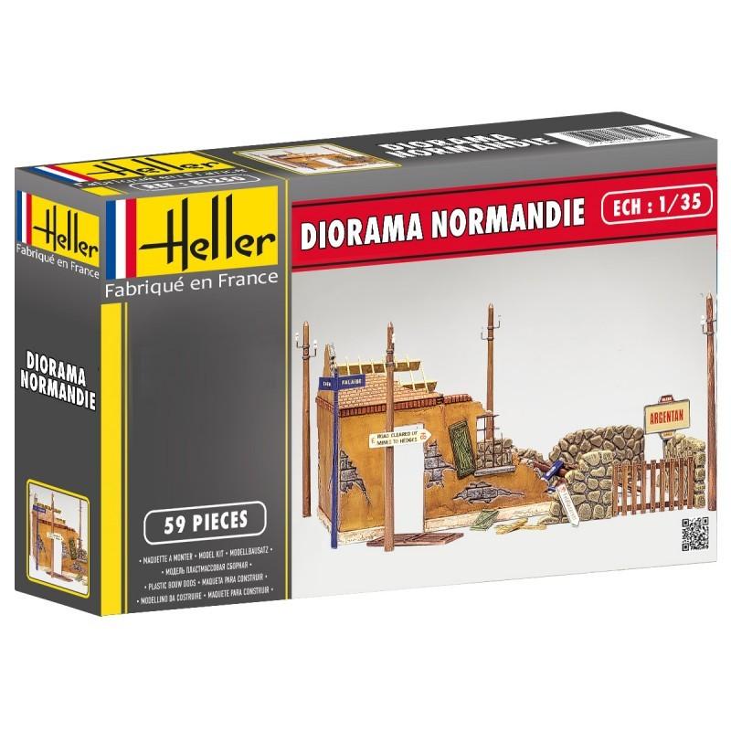 Heller Diorama Ruines Normandie 1/35