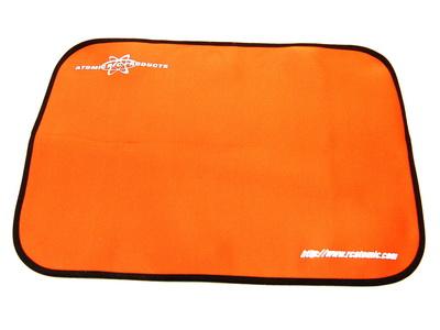 Tapis de stand orange Atomic