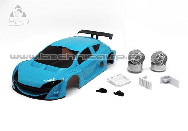 Carrosserie Megane Trophy V6 Bleu