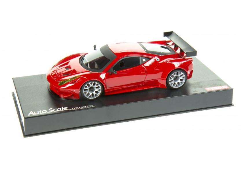 Carrosserie Ferrari 458 Italia GT2 Rouge Mini-Z Kyosho