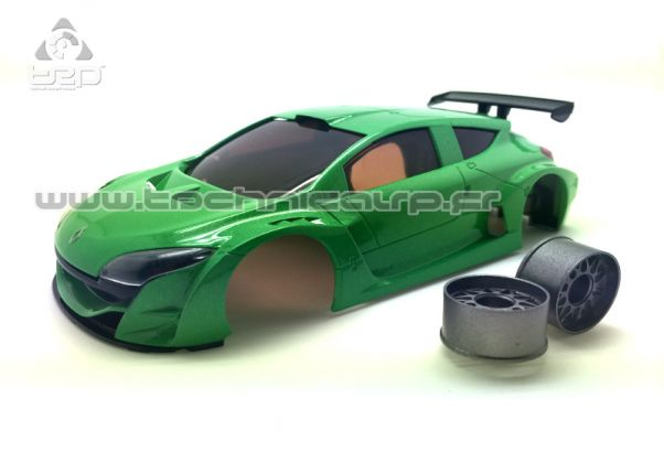 Carrosserie Megane Trophy V6 Verte