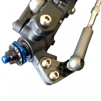 SCHELLE AE B6/B6D CARBON STEERING ARMS