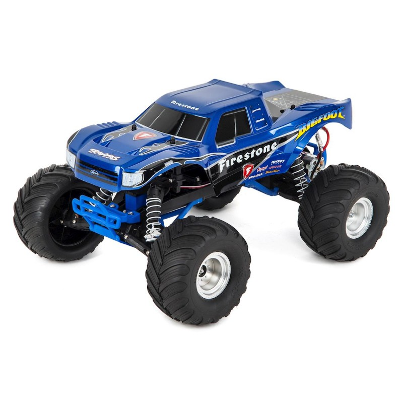 TRAXXAS Monster Truck Bigfoot Bleu 2wd Brushed TQ iD RTR 36084-1