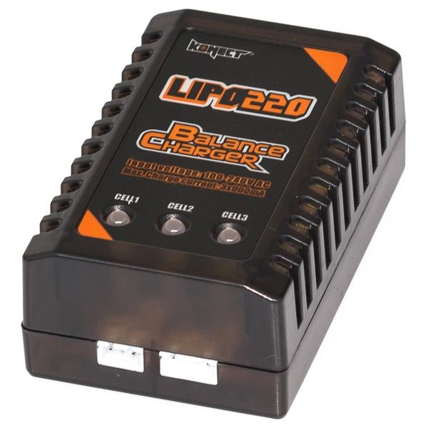 KONECT Chargeur Lipo 2s - 3s 220v, KN-LIPO220