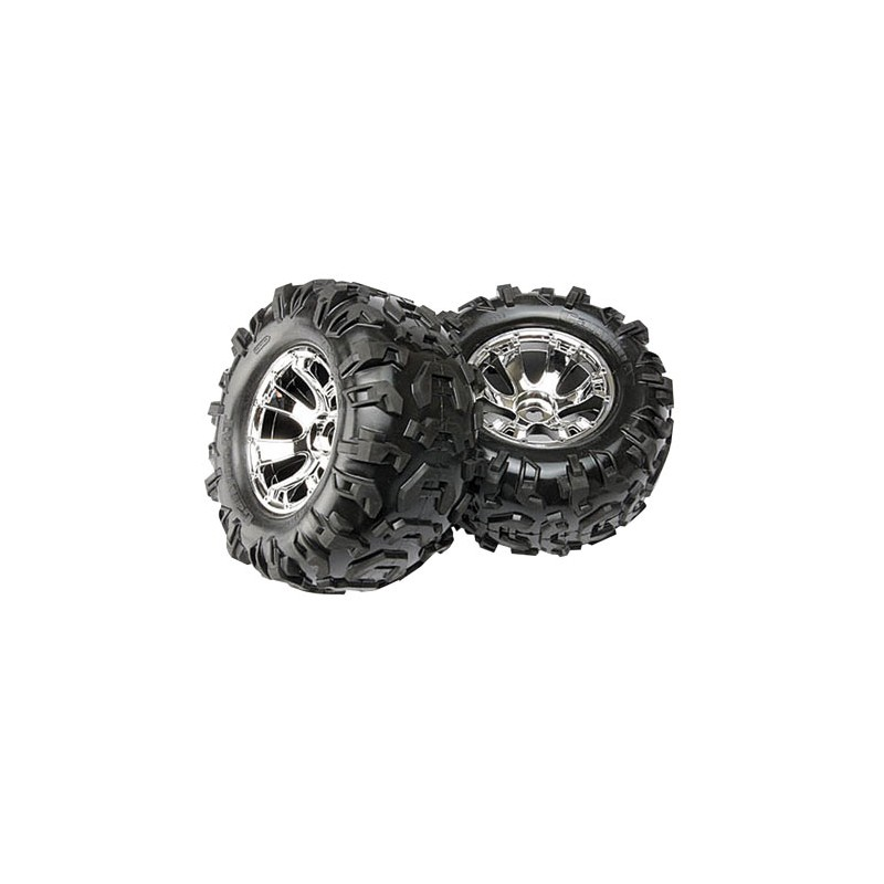 Traxxas Pneus Canyon AT + Jantes Geode (x2) 5673