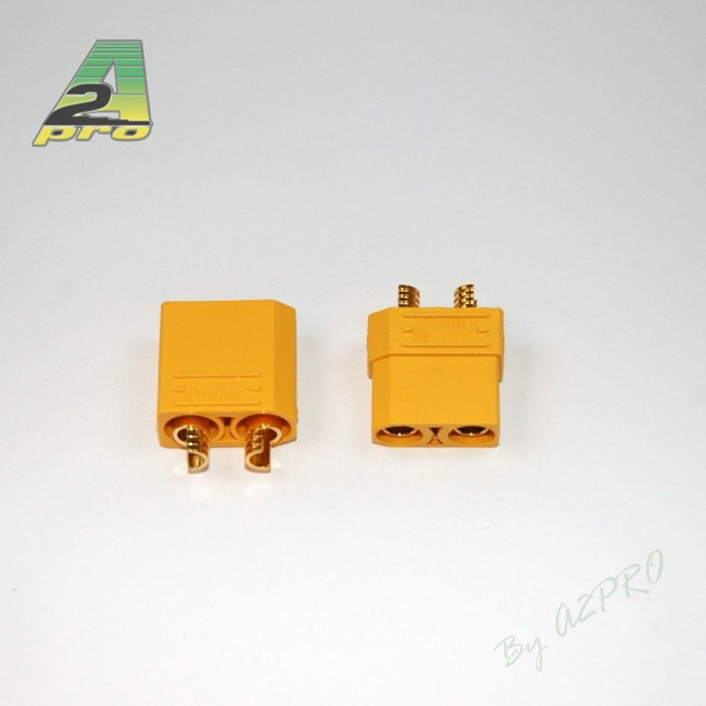 A2P Connecteur XT-90 OR Haute Qualité (paire), 14190
