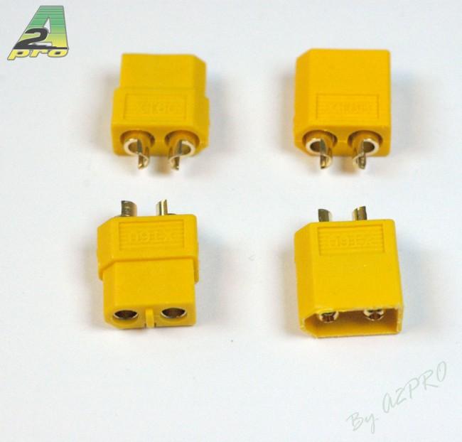 A2P Connecteur XT-60 OR Haute Qualité (2 paires), 14160