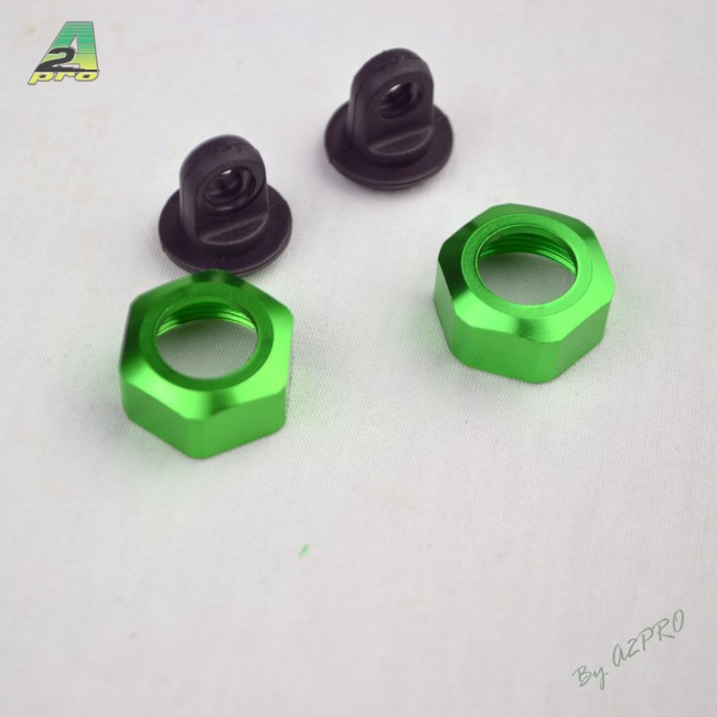 A2P  Capuchon et écrou supérieur pour amortisseur (2 jeux) C10109