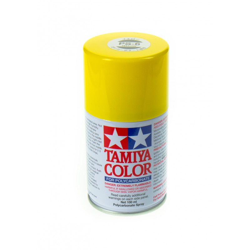 TAMIYA PS06 Jaune Bombe peinture Lexan