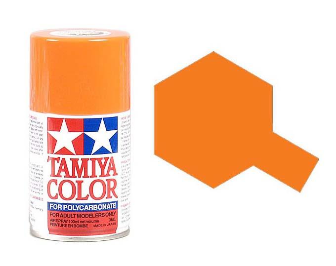 TAMIYA PS07 Orange Bombe peinture Lexan