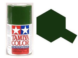 TAMIYA PS09  vert Bombe peinture lexan 100ml, TAMI86009