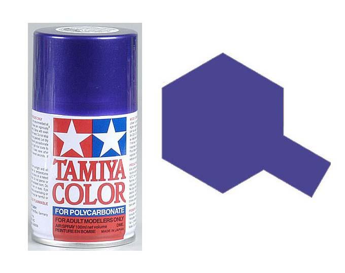 TAMIYA PS18 Violet Métal Bombe peinture Lexan