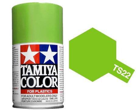 TAMIYA  TS22 Vert Clair Brillant Bombe peinture Maquette