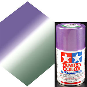 TAMIYA PS46 mimetique violet Bombe peinture lexan 100ml, TAMI86046