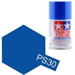 TAMIYA PS30 Bleu Brillant Bombe peinture Lexan
