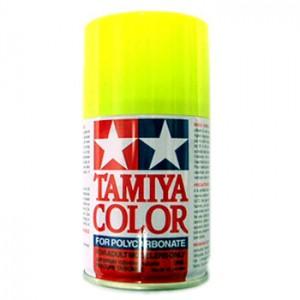 TAMIYA PS27 Jaune Fluo Bombe peinture Lexan