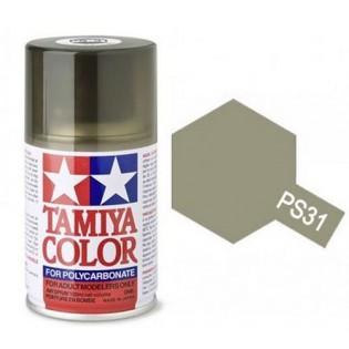 TAMIYA PS31 Smoke (fumée)  Bombe peinture Lexan