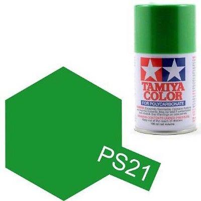TAMIYA PS21  vert pre Bombe peinture lexan 100ml, TAMI86021