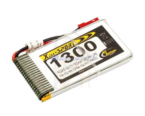 RC SYSTEM Lipo 1S 3,7v 1300mAh 20c, RC3475