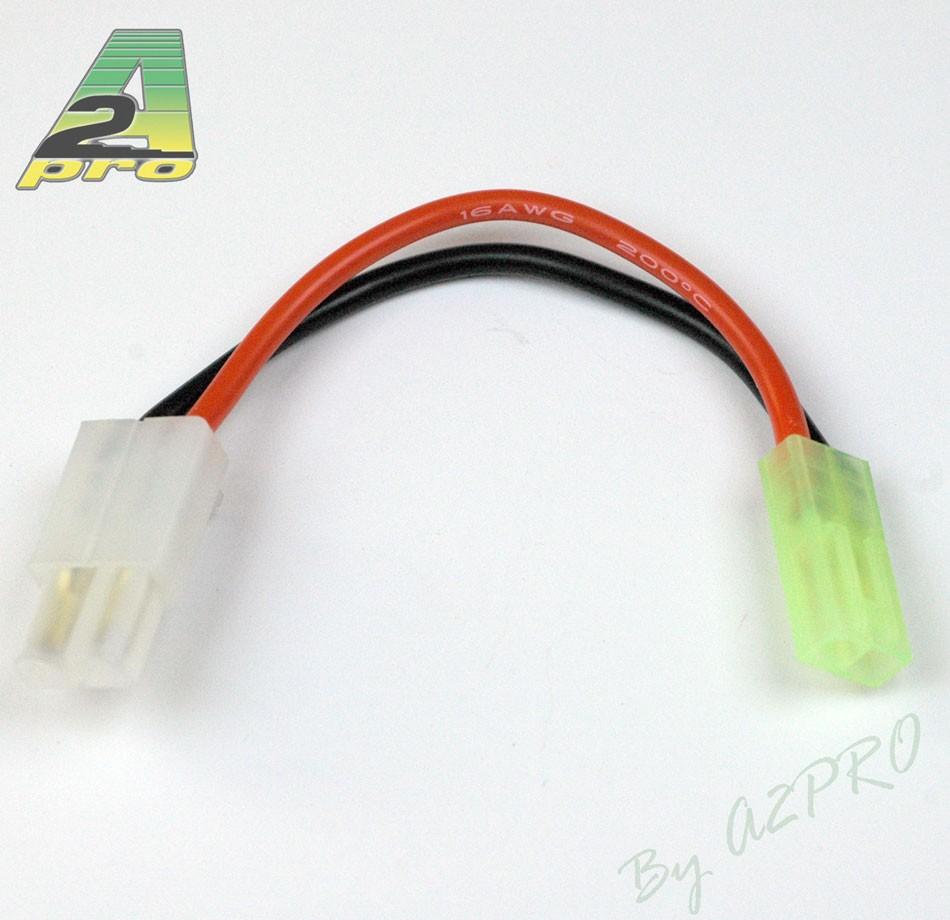 A2P Adaptateur Tamiya mâle/mini Tamiya femelle Airsoft, 11016