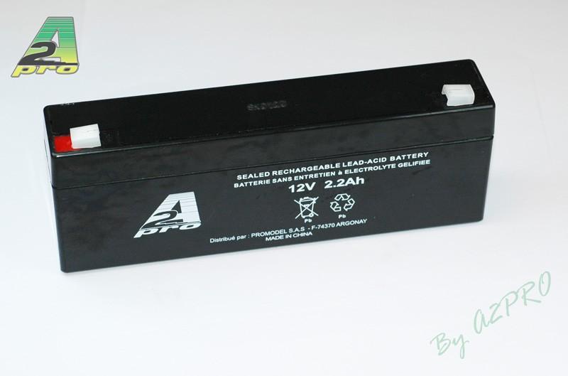 A2P Batterie 12V - 2.2Ah, 112020