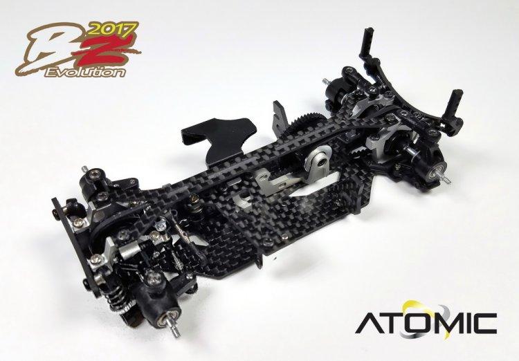 ATOMIC Kit BZ EVO 2017 chassi seul, BZ17-KIT
