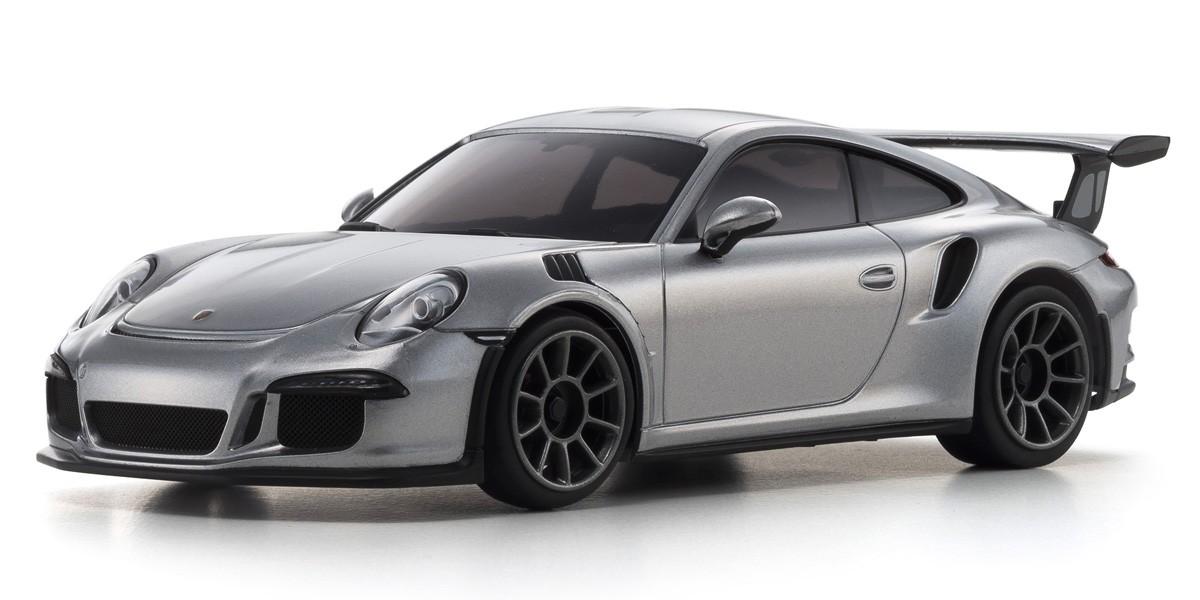 MINI-Z RWD Porsche 911 GT3 RS GT-silbermetallic Readyset RTR, 32321S