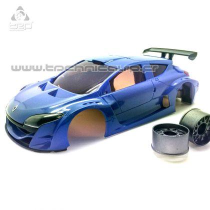 TRP Carrosserie Megane Trophy V6 Bleu métal, SCE016