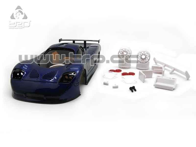 TRP Carrosserie MiniZ TRPScale Mosler MT900 bleu, SCB036