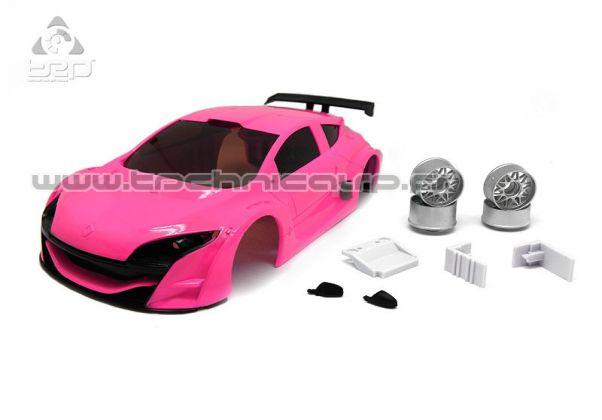 TRP Carrosserie Megane Trophy V6 Rose, SCE017