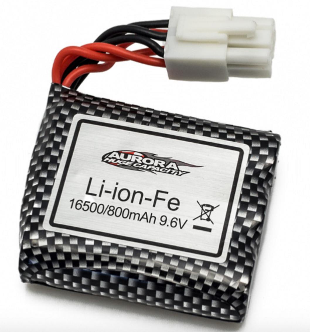 FUNTEK Batterie 9.6V 800mah pour MT12 prise blanche, FTK-MT12/033