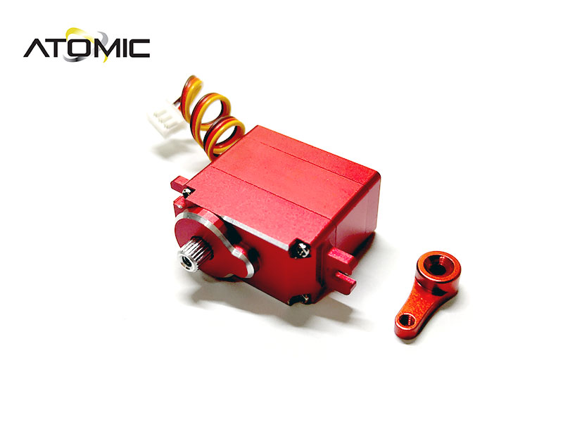 ATOMIC servo miniz digital haute qualité rouge, BZ-UP017RD