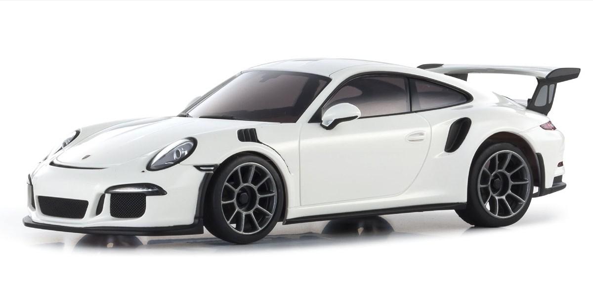 KYOSHO Mini-Z RWD PORSCHE 911 GT3 RS BLANCHE (N-RM/KT531P), 32321W