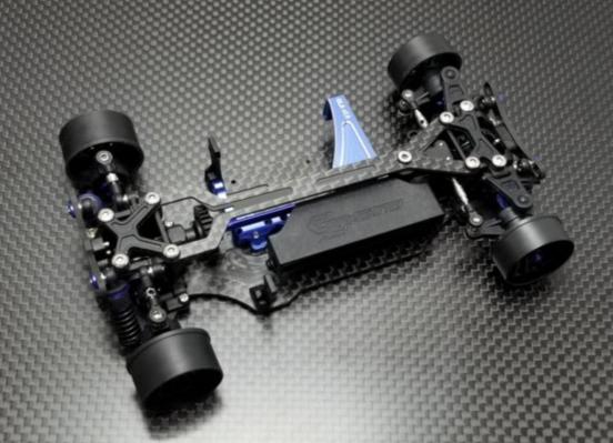 GLA-V2 4WD GL-Racing ( sans servo et vario ), GLA-V2-001-N